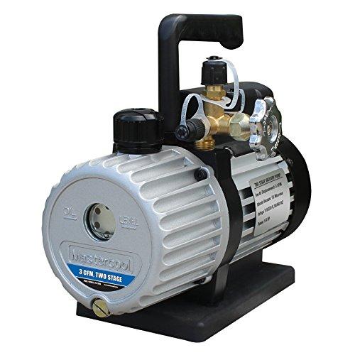 Mastercool 90063-2V-110-B 3CFM 2 Stage Vacuum Pump