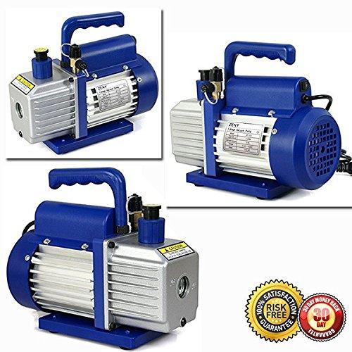 New R134a HVAC Manifold Gauge Air Condition Kit with 14 HP 35CFM Vacuum Pump