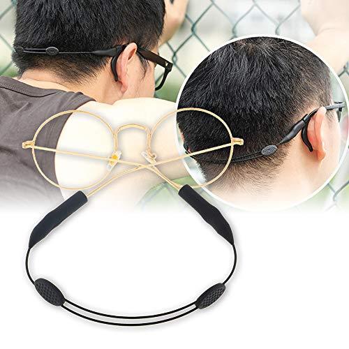 Polytree Glass Strap and Eyewear Retainer for Sunglasses Eyeglasses or Prescription Glasses Sunglasses Rope String Holder Accessory Black