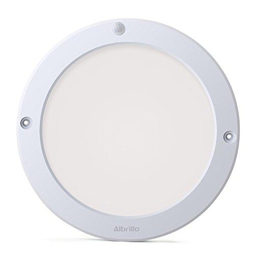Albrillo Indoor Motion Sensor Light LED Ceiling Lights Flush Mount for Kitchen Hallway Bathroom 100 Watt Equivalent 1200lm
