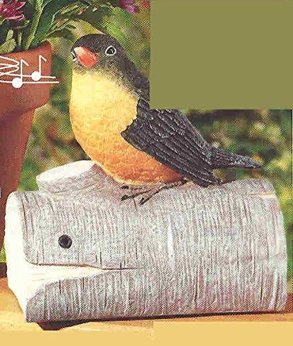 Decorative Indoor Motion Sensor Bird On A Perch