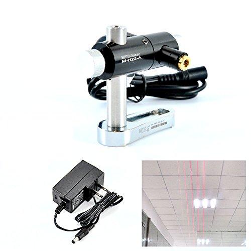 12mmx55mm Adjusted Red Laser Diode 650nm 10mw Laser Line Module 5V  Holder  Adapter