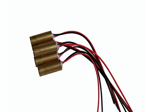light88 Red Line Laser Module Focus Laser Head 3V Industrial 650nm 5mw Lazer Diode 3pcs