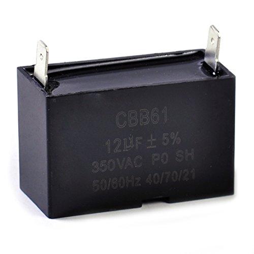 CBB61 12uF Small Gasoline Generator Capacitor 350 VAC 5060HZ Ceiling Fan Motor Amazon Fulfilled