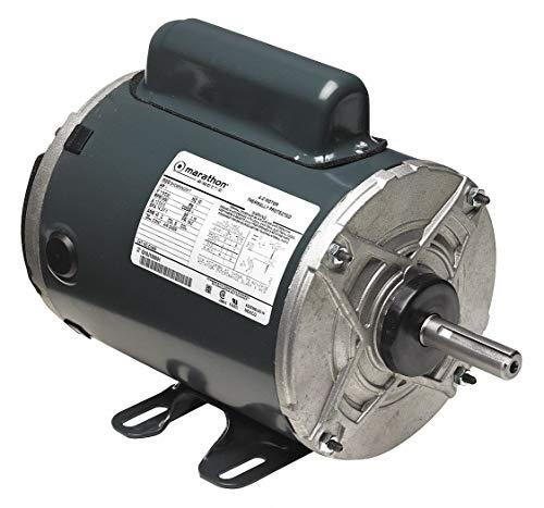 Marathon Motors 34 HP Aeration Fan MotorCapacitor-Start3450 Nameplate RPM115230 VoltageFrame 56Z