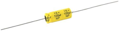 NTE Electronics NPA10M100 Series NPA Aluminum Non Polarized Electrolytic Capacitor 20 Capacitance Tolerance Axial Lead 10µF Capacitance 100V