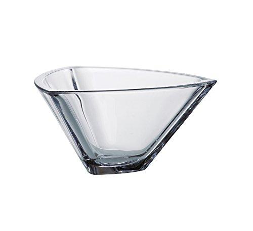 Barski - European Quality Glass - Lead Free - Crystalline - Triangle Bowl - 7  - Made in Europe
