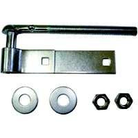 MINTCRAFT LR082 Zinc Bolt HookStrap Hinge 18-Inch