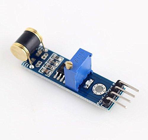 REES52 801S vibration  shock sensor analog output sensitivity adjustable
