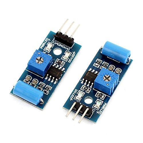 uxcell 2 Pcs Normal Closed Shock Sensor Module Switch Module Latest Type