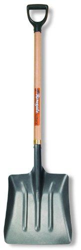 Hisco Renegade Coal Scoop With Steel Blade  38 Ash Wood D-Handle