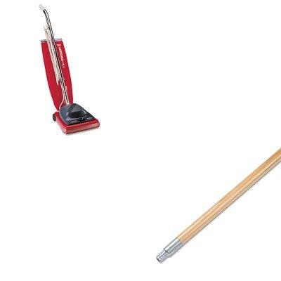 KITBWK136EUKSC684F - Value Kit - Boardwalk Metal Tip Threaded Hardwood Broom Handle BWK136 and Commercial Vacuum Cleaner 16quot EUKSC684F