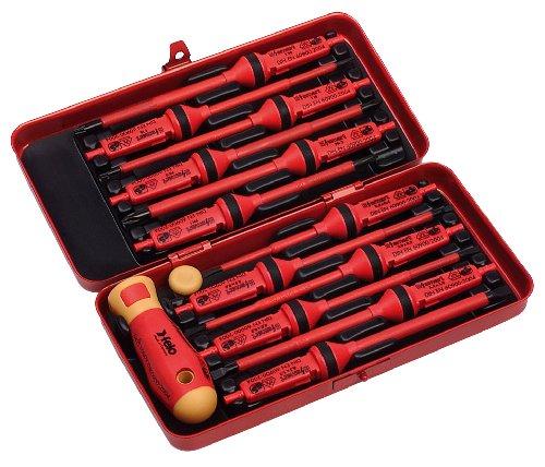 Felo 0715753077 14 Piece E-Smart Insulated Screwdriver Set