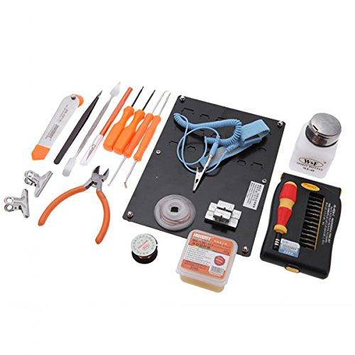 JM-1101 49-in-1 DIY Electronic Repairing Toolkit Set Soldering Welding Tools Screwdriver Type