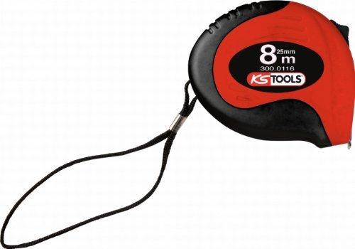 KS Tools 3000116 PRECISION steel tape measure 8mx25mm by KS Tools