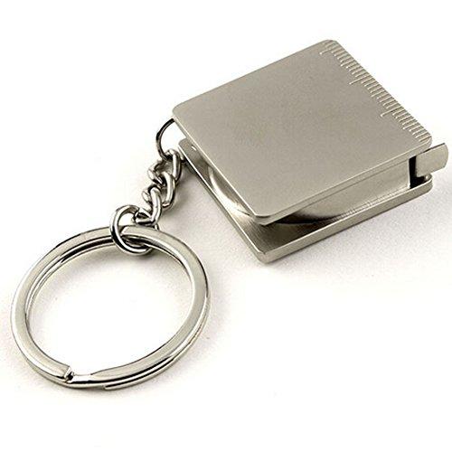 Mini Steel Tape Measure Keychain