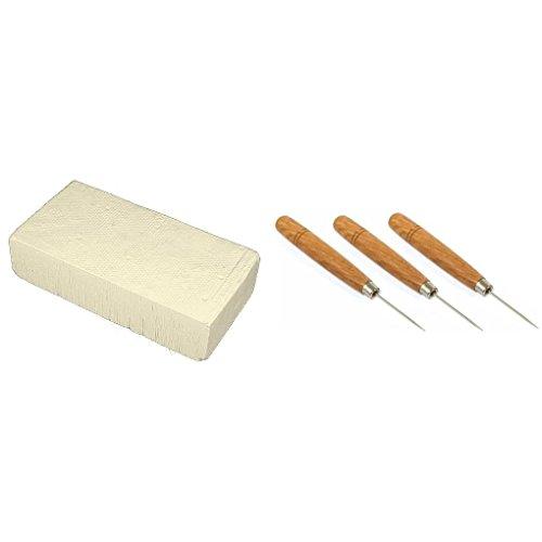 Magnesia Soldering Block Soldering Picks Solder Welding Bench Tools Kit 4 Pcs