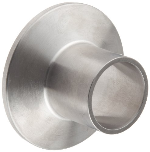 Dixon L14AM7-R100 Stainless Steel 316L Sanitary Fitting Long Weld Clamp Ferrule 1 Tube OD