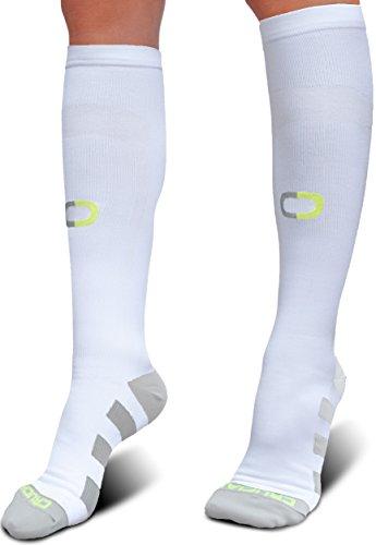 Compression Socks 20-30mmHg for Men Women - BEST Graduated Stockings for Running Medical Athletic Edema Diabetic Varicose Veins Travel Pregnancy Shin Splints Pain Relief Nursing