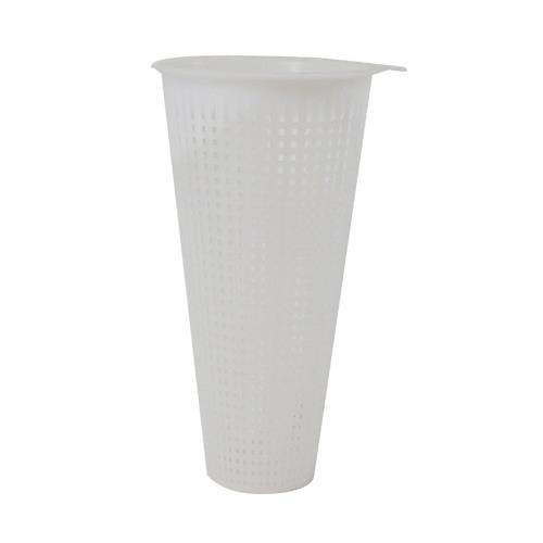 Generic 11461 Floor Drain Strainer 4 Top Tapered Drop-In Commercial Plastic 8X4