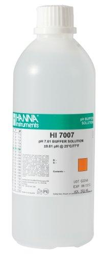 Hanna Instruments HI7007L 701 pH Calibration Buffer Solution 500mL Bottle