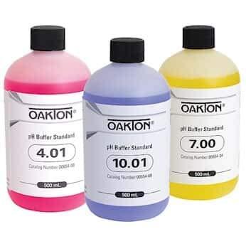 Oakton AO-05942-10 Oakton Buffer Pack 500 mL of Each pH 401 700 and 1001 Pack of 3