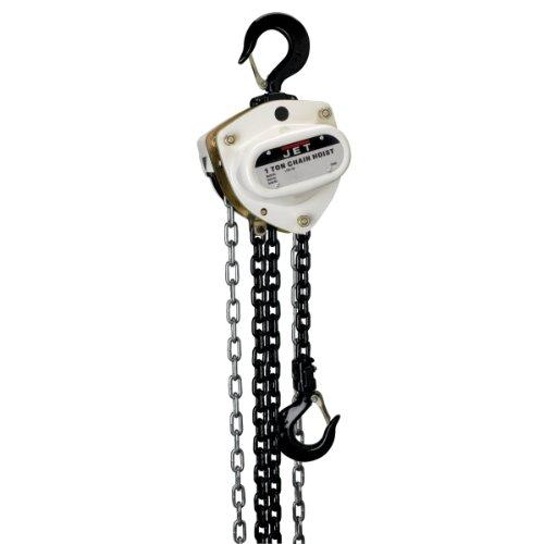 JET 101210 L100-100-10 1-Ton Capacity 10-ft L-100 Series Hand Chain Hoist