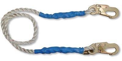 FallTech 7154 Rope Restraint Lanyard 4-Foot