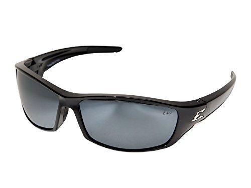 Edge Eyewear SR117 Reclus Safety Glasses Black with Silver Mirror Lens