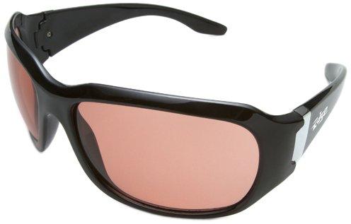 Edge Eyewear YC115 Civetta Safety Glasses Black with CopperDriving Lens
