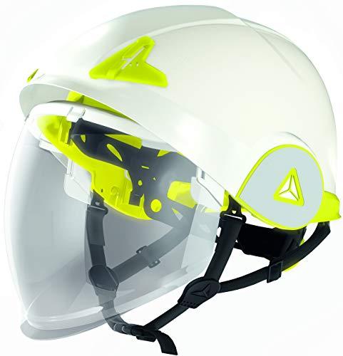 Delta Plus Onyx Twin Shell Safety Helmet Hard Hat Integral Visor ARC Flash