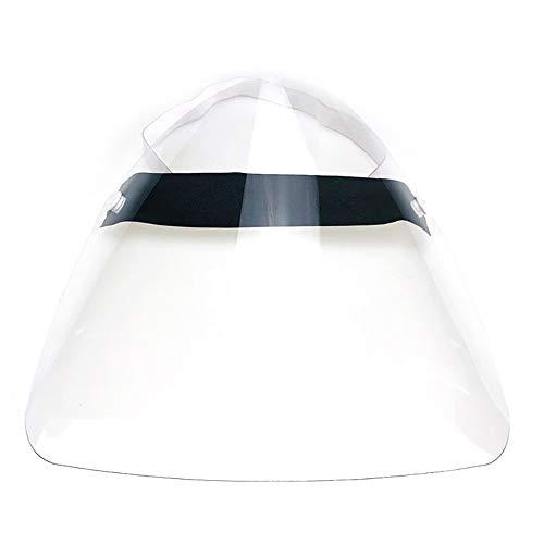 Yvetti Transparent Safety Face Shield Anti-Splash Full Face Mask Anti-Fog Safety Cover Adjustable Safety Visor Shield Random Color