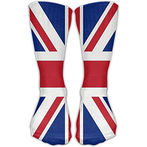 England Flag Novelty Girls Socks Knee High Stockings Warm Socks Dress Socks 30cm Best Gift