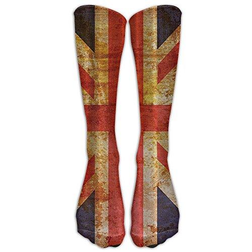 England Flag Patriot Unisex Outdoor Travel Exercise Sports Long Tube Socks Sport Over-The-Calf Long Team Socks