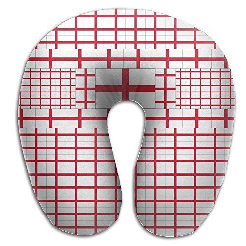 England Flag U Shaped Pillow Travel Pillow Duplex Print Neck Pillow