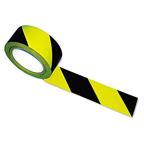 TATCO 14711 Hazard Marking Aisle Tape 2w x 108ft Roll