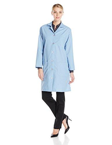 Red Kap Womens Lab Coat Light Blue Small