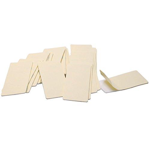 Eforlike 50 Pcs 15 x 3 Inch Rectangular Adhesive Double-sided Foam Tape