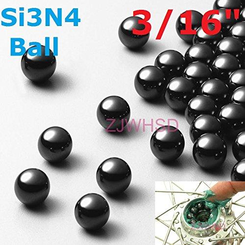 50Pcs 316 4763Mm Silicon Nitride Ceramic Si3N4 Bearing Balls For Bike Replace