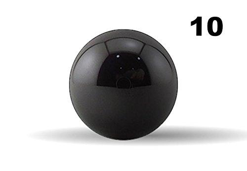 Ten 316 Inch G5 Precision Si3N4 Silicon Nitride Ceramic Bearing Balls