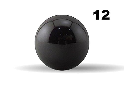 Twelve 18 Inch G5 Precision Si3N4 Silicon Nitride Ceramic Bearing Balls