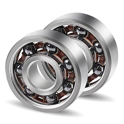 Two 2 Si3N4 Silicon Nitride 608 Ball Bearings 8x22x7