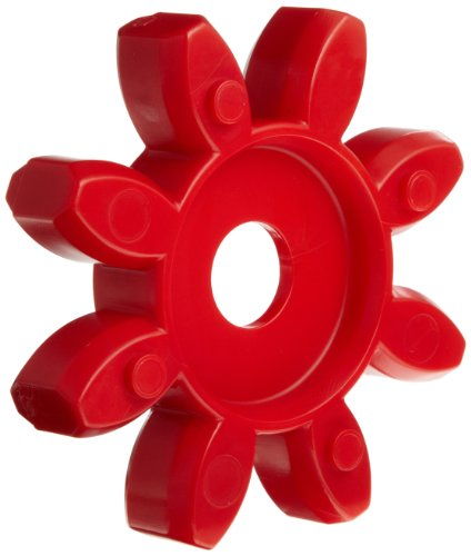 Lovejoy 67253 Size GS 24 Curved Jaw Coupling Spider Urethane - 98 Shore A Red 531 in-lbs Nominal Torque 6950 rpm Max Rotational Speed