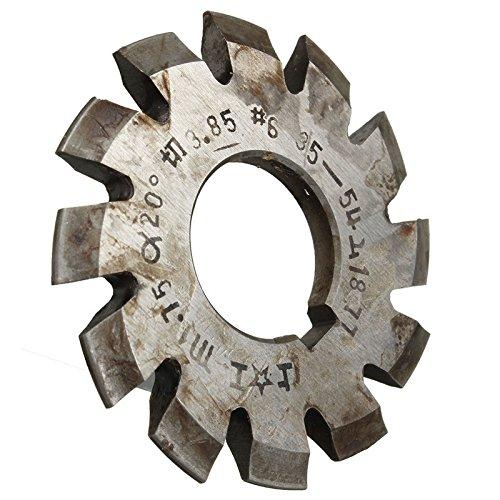 Diameter 22Mm M175 20 Degree 6 Involute Gear Cutters Milling Bits Set Hss High Speed Steel Machine 1-