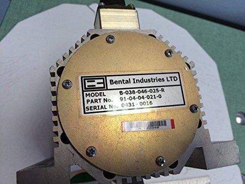 USED BENTAL INDUSTRIES 91-04-04-021-0B-038-046-025-R SERVO ACTUATOR MOTOR CF