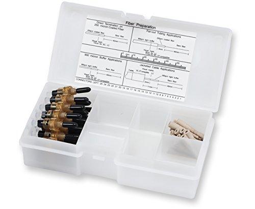 Corning Unicam ST Multimode 625 um Pretium Fiber Optic Connector Organizer Pack of 25 95-000-51-Z