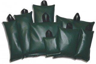 Patient Positioning Sandbag Set - General Set C 8 Piece Set Black