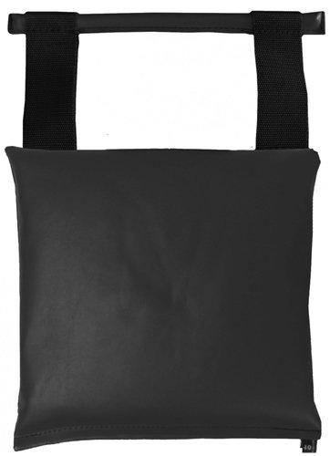 Patient Positioning Sandbag - Straight Bar Handle 10 lb Sandbag Black
