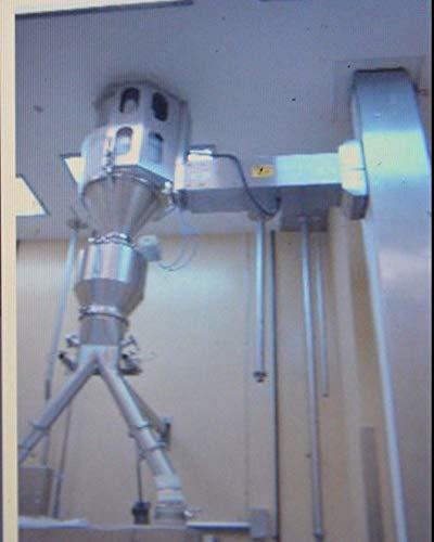 Creative Design Machine CDM SS Sanitary Pharmaceutical Post Hoist Drum Lift