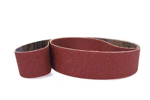 1 X 30 Inch Sanding Belts Aluminum Oxide Cloth Sander Belts 12 Pack 220 Grit